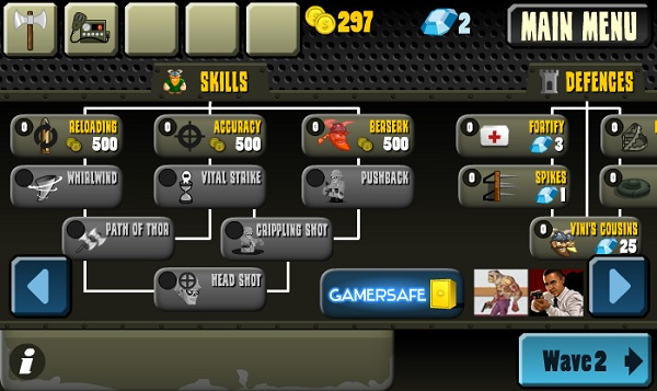 game Phong thu zombie ban moi