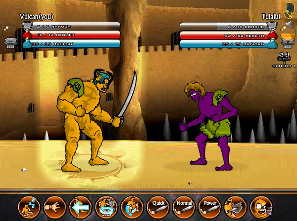 game Vo si giac dau swords and sandals 3
