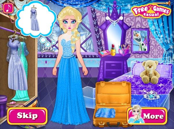 game Elsa chia tay Jack frost