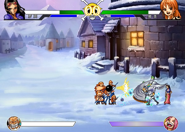 Game One piece ultimate fight battle 1.6