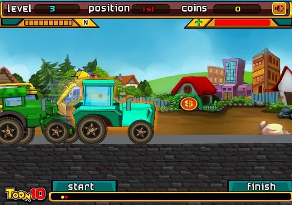 game Dua xe may cay keo