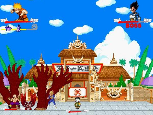 game Naruto dai chien Goku hinh anh 3