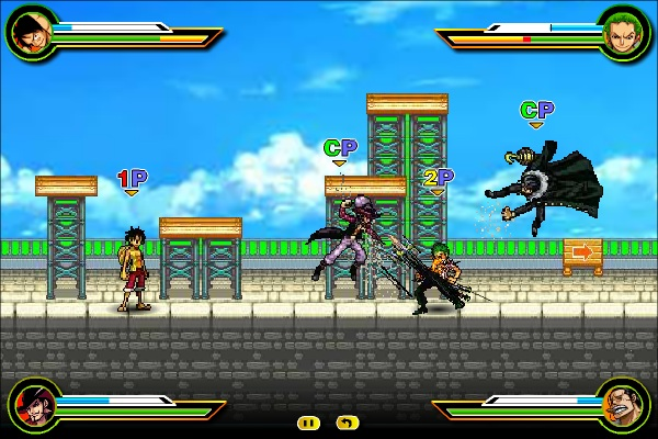 game One Piece Hot Fight 0.7 online hay nhat the gioi