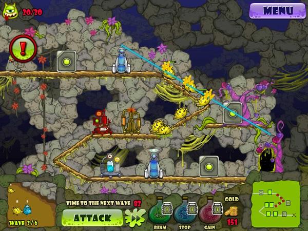 game Phong thu quai vat 2 monster td 2 online