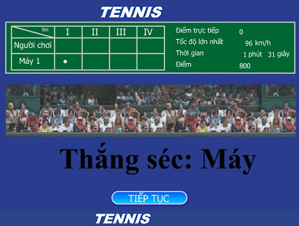 game Tennis 3D hay nhat moi nhat