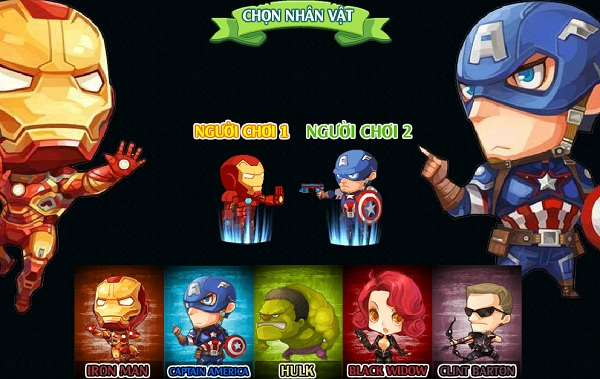 game Avengers vs Zombies online offline cho pc