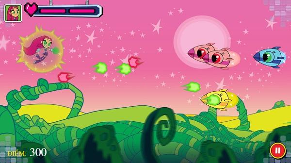 game Biet doi thieu nien titan choi game cartoon network