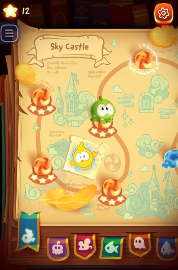 game Cat day 4 cut the rope magic