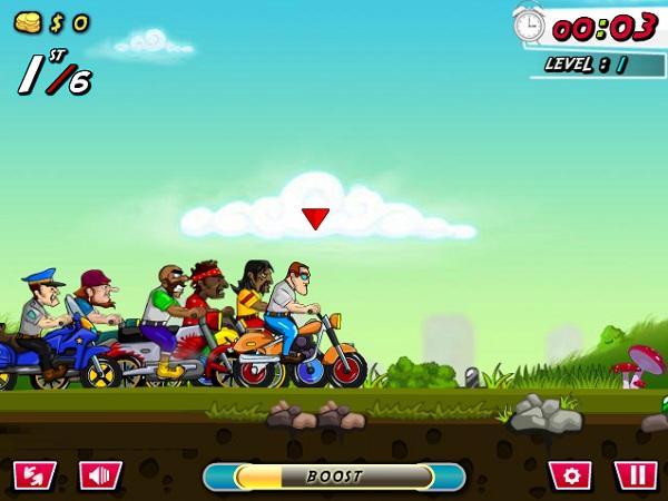 game Dua xe 2 banh online offline