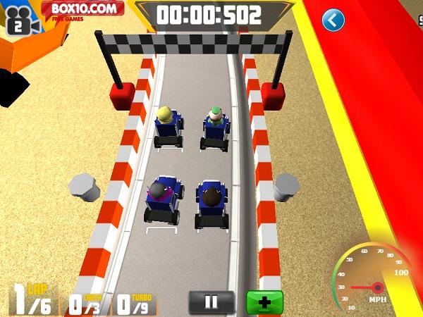 game Dua xe mini 3D vuot- dia hinh mien phi
