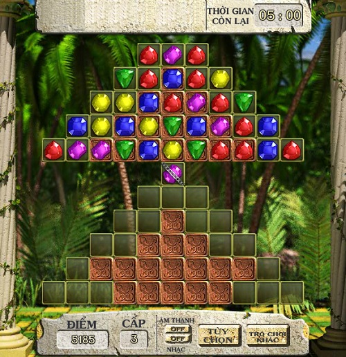 game Kim cuong co dien bejeweled 2017