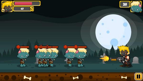 game Shotgun vs Zombies kinh di