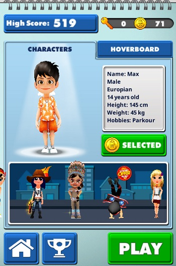 game Subway Surfers cho dien thoai android iphone java