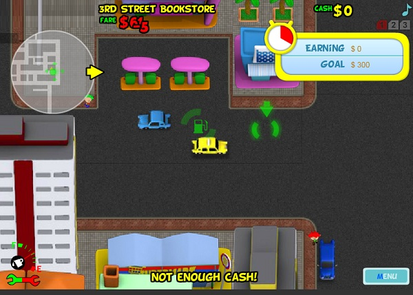 game Tai xe taxi 4 new york