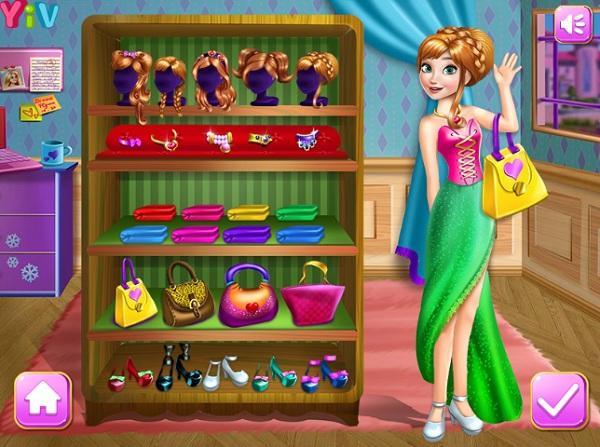 game Thoi trang cong chua Disney mien phi hay nhat 24h y8