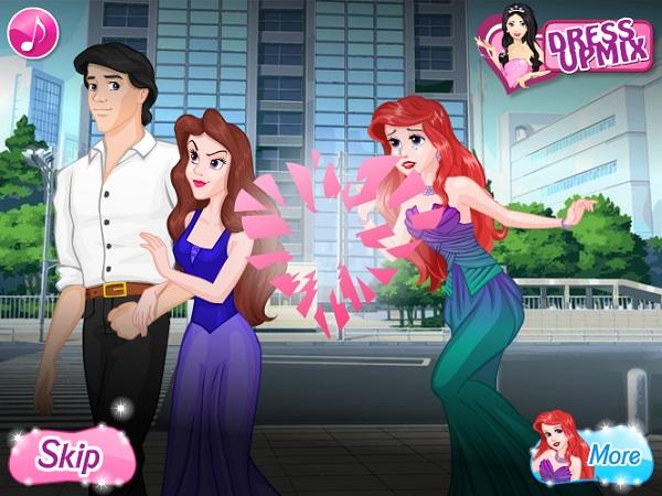 game Ariel chia tay Eric that tinh