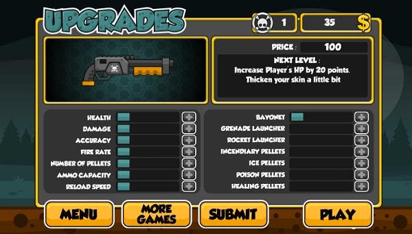 game ban sung shotgun diet Zombies