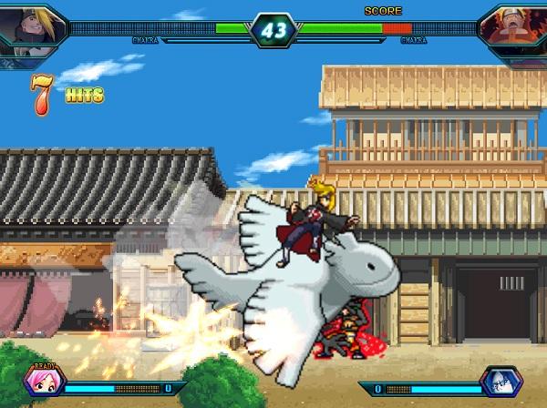 game Bleach vs Naruto 3.1 mien phi game vui 24h kbh poki