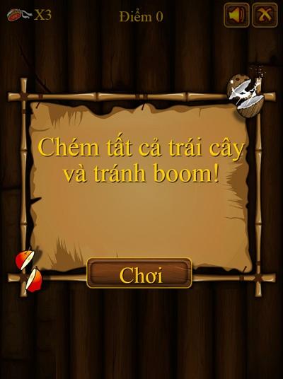 game Chem hoa qua katana phien ban moi cho android iphone ios java may tinh pc