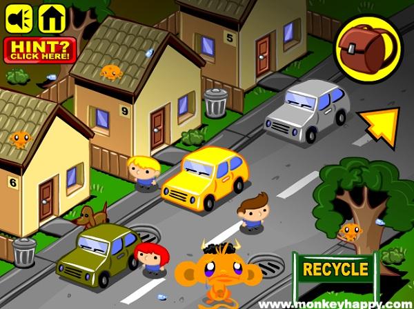 game Chu khi buon 4 the gioi monkey go happy four worlds