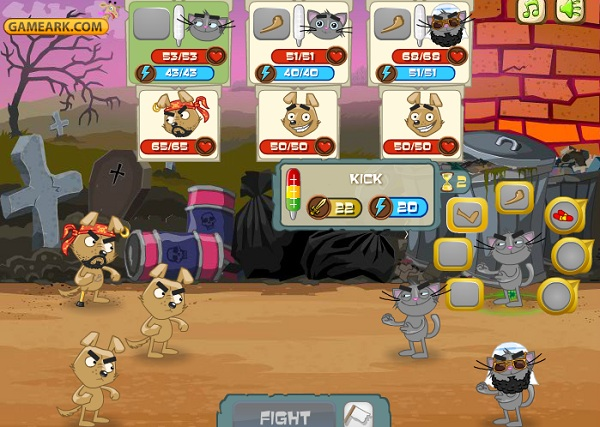 game Cuoc chien cho meo 2 hinh anh 1
