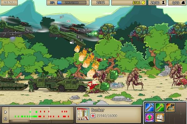 game Cuoc chien xuyen the ky 9 age of war online offline