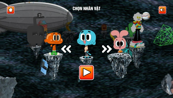 game Gumball du day mien phi moi hay nhat
