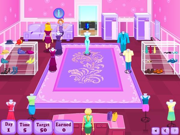 game Quan ly shop thoi trang hang hieu cao cap