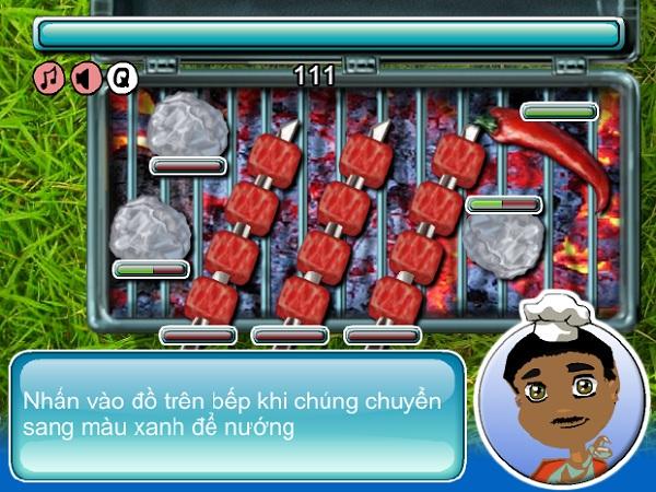 game Thịt nướng BBQ ngoai troi mua dong