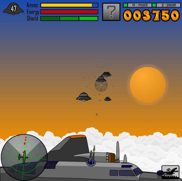 game Ban dia bay 3D mien phi cho pc
