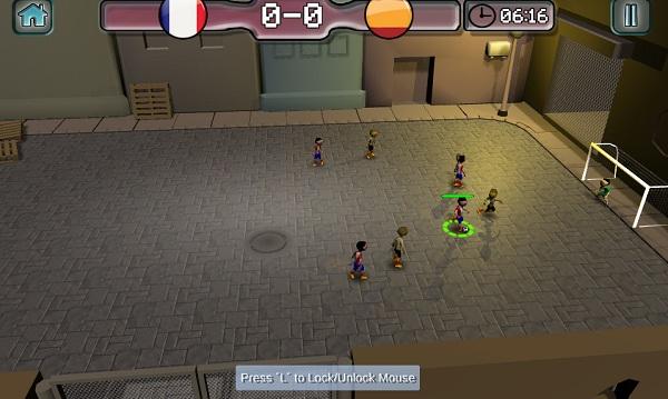 game Bong da duong pho 3D mien phi zing me 24h y8