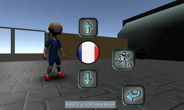 game Bong da duong pho 3D online offline pc