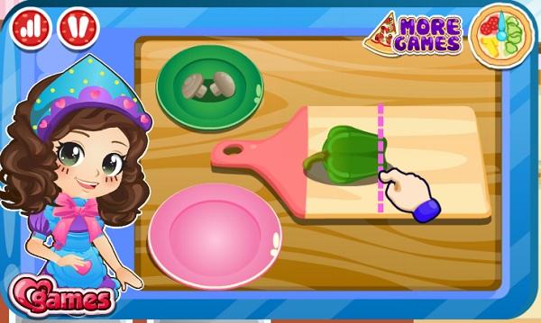 game Cong chua Ori lam banh pizza hinh anh 1