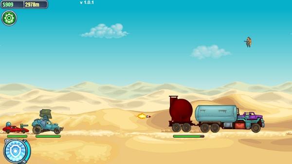 game Cuoc dua tu than road of fury 3