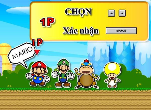 game Dat boom Mario mien phi cho may tinh pc