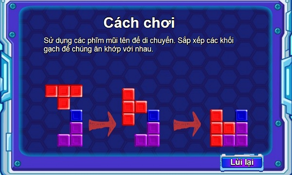 game Xep gach co dien 3 hinh anh 1