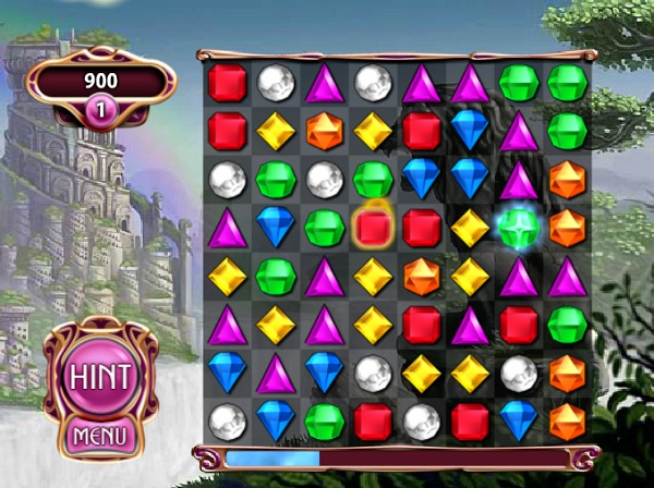 game Xep kim cuong Bejeweled 3 online offline