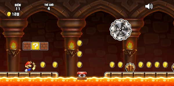 game Chay di Mario 2 online