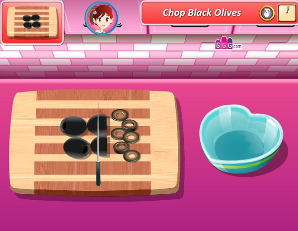 game Lam banh pizza tinh yeu hinh anh 1