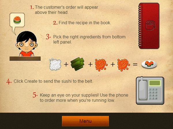 game Nha hang sushi 2 hinh anh 1