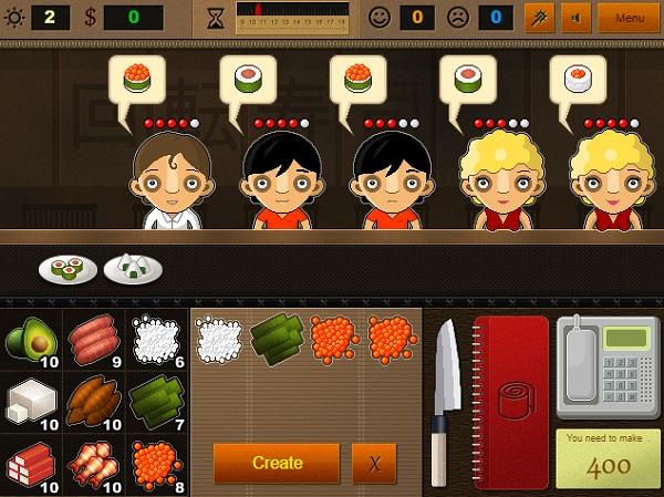game Nha hang sushi 2 hinh anh 2