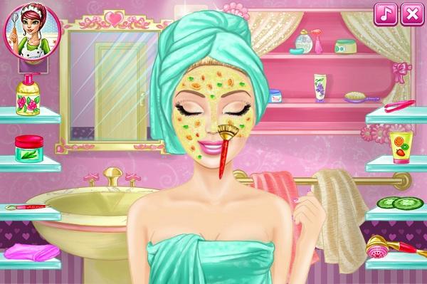 game Trang diem Barbie hinh anh 1
