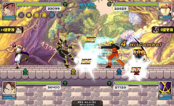 game Anime battle 3.5 lien quan manga