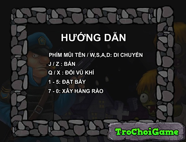 game Canh sat ban zombie hinh anh 1