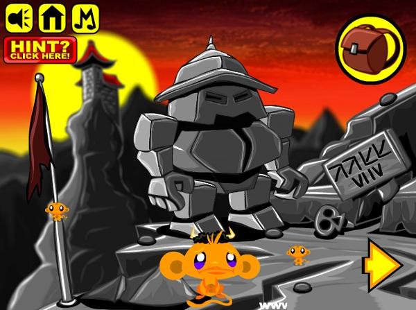 game Chu khi buon 4 the gioi phan 3 monkey go happy four worlds 3