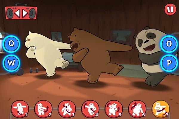 game Chung toi don gian la gau nhay Audition boogie bears