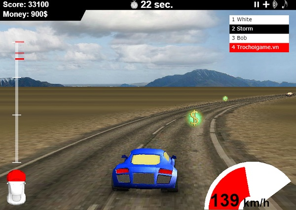 game Dua xe 4 banh offline
