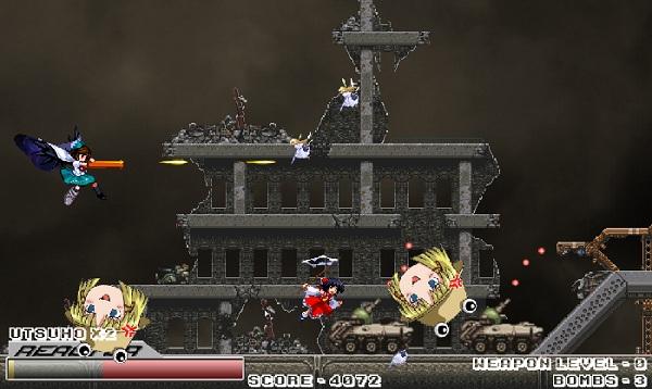 game Sakura dai chien tren khong