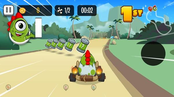 game Dua xe Kizi online offline