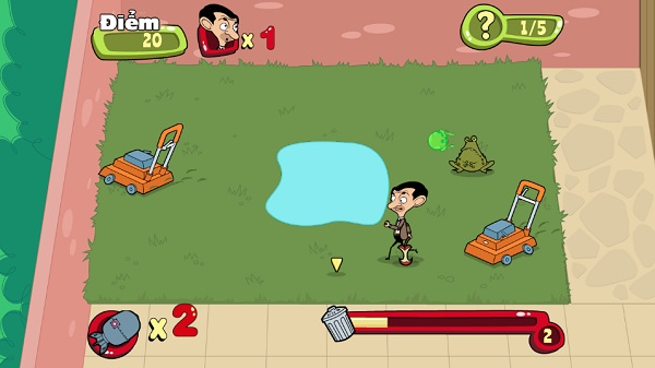 game Mr Bean nhat rac hinh anh 3